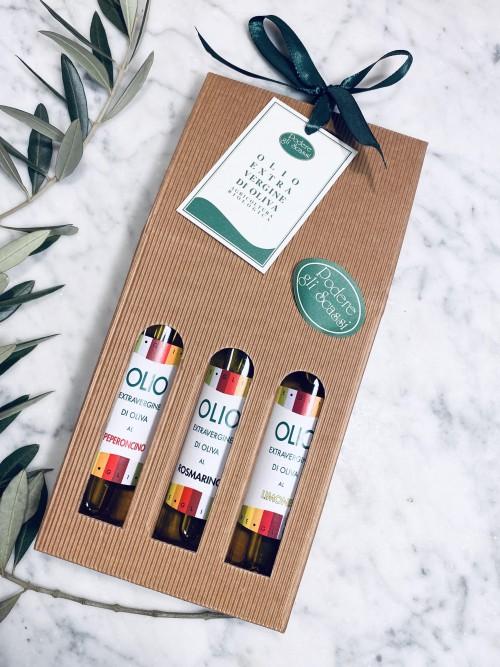 Set of 3 organic infused oils