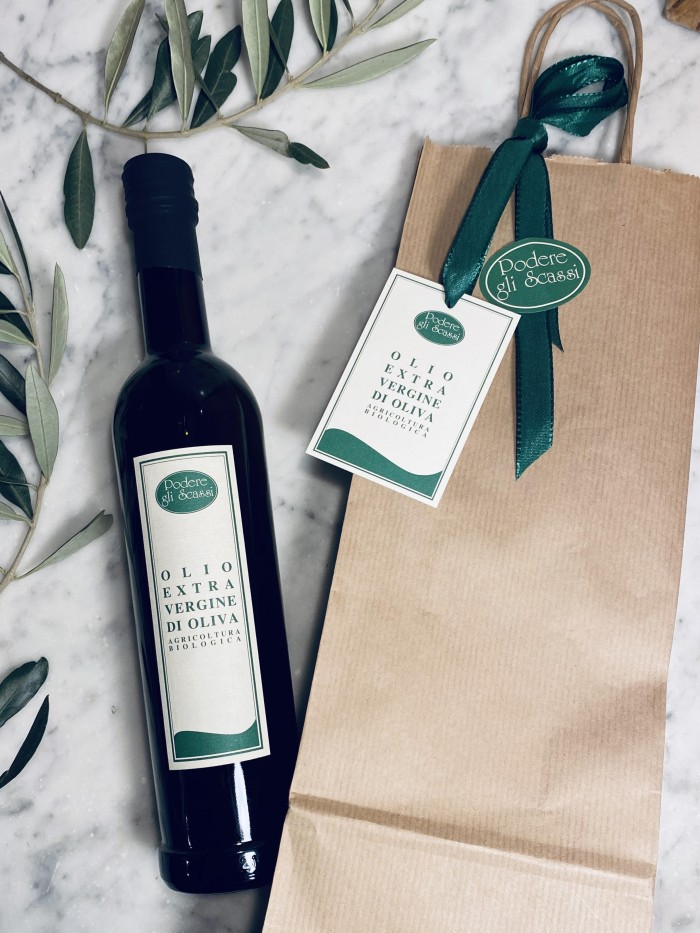 500 ml Organic Extra Virgin Oliveoil in a bag
